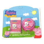 Peppa Pig Set Gomma Temperamatite