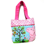 Peppa Pig Borsa Shopping in tela