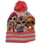 Lol Surprise Cappello invernale con pon pon VB18181 Rosa