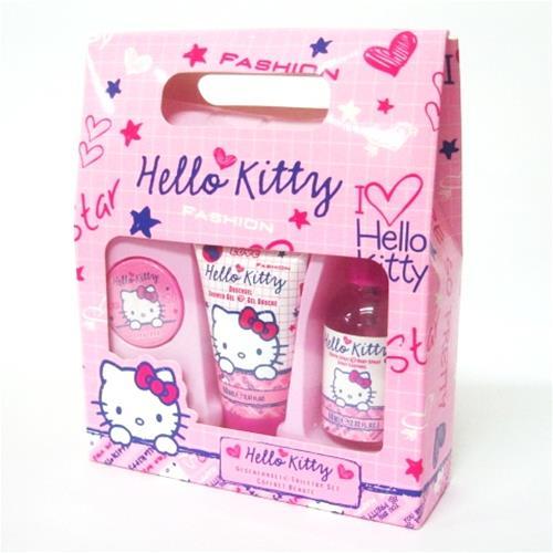 Accessori Hello Kitty Bagno.Hello Kitty Set Bagno 10945 Anno 2010